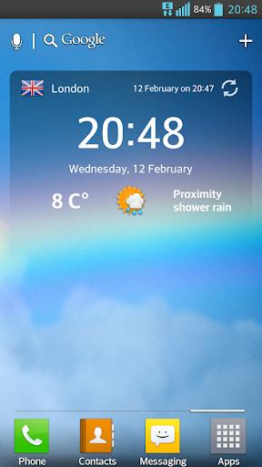 OpenWeather – weather forecast