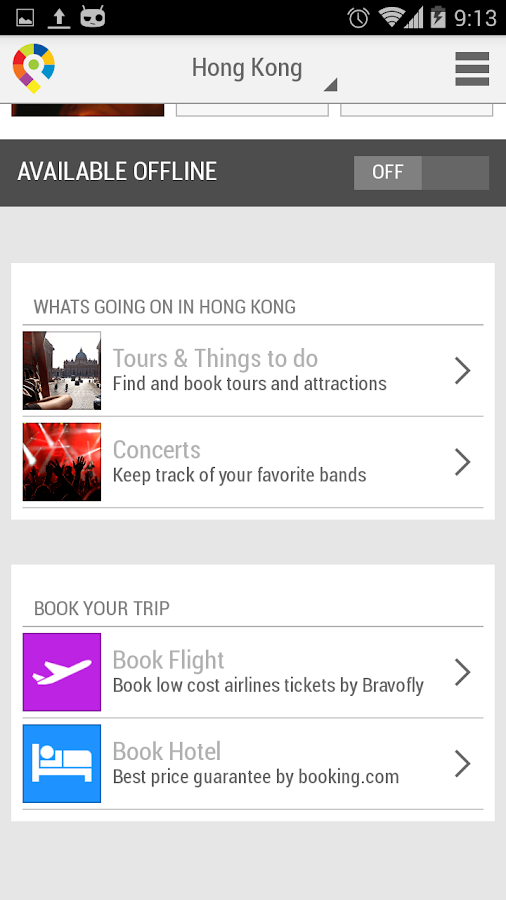 Hong Kong City Guide - screenshot