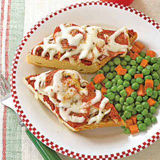 French Bread Pizzas.