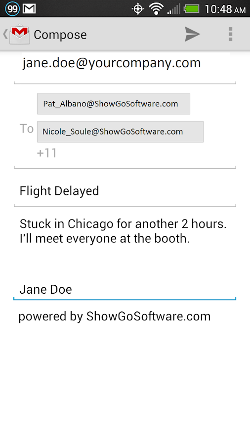 ShowGo Mobile- screenshot