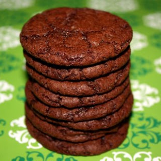 Cocoa Fudge Cookies.