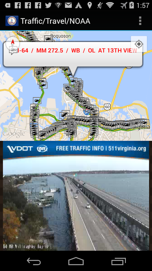 Virginia Traffic Cameras - Android Apps on Google Play