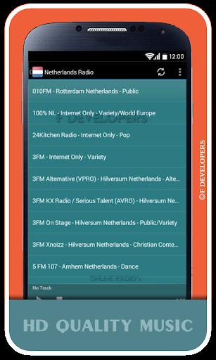 Netherlands Radio - Live Radio