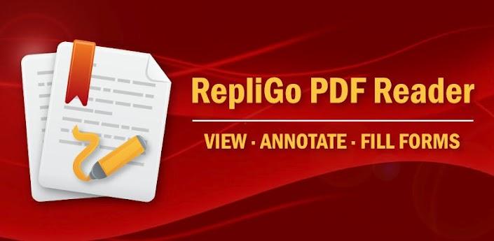 Скачать RepliGo PDF Reader 4.1.1 - приложение для работы с pdf документами