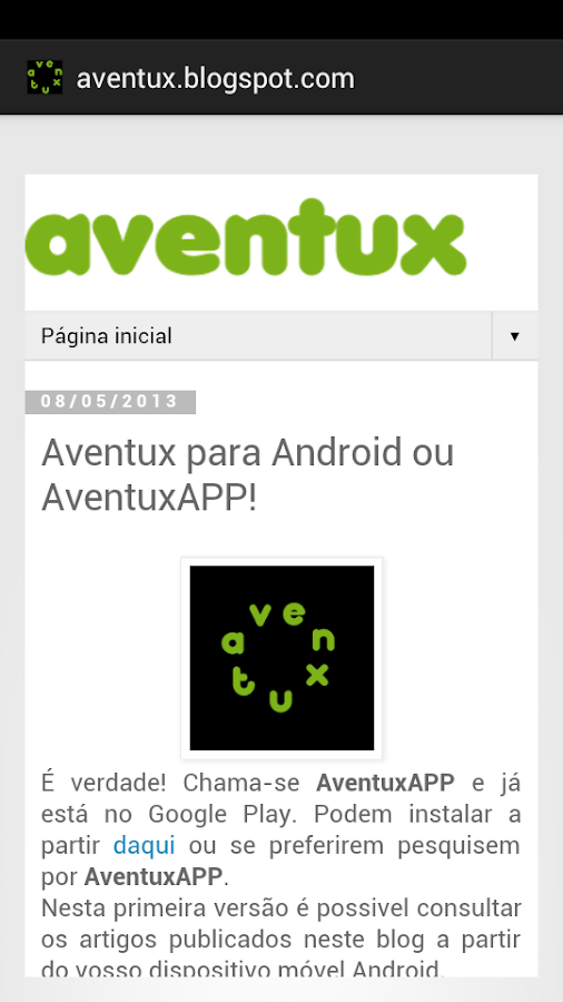 AventuxAPP - screenshot