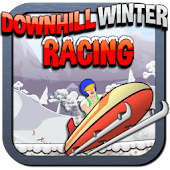 Downhill Winter Racing