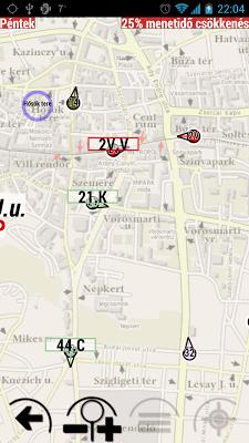 Miskolc  menetrend - screenshot