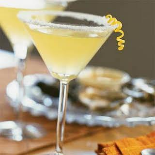 Frosty Lemon Martini.