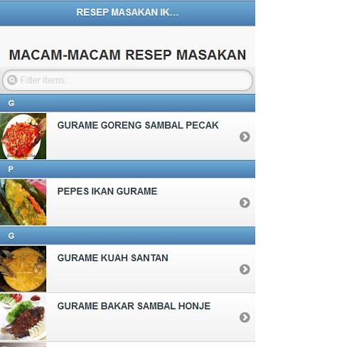 101 Resep Masakan Ikan Gurame