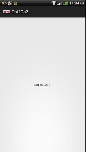 Got2Go2
