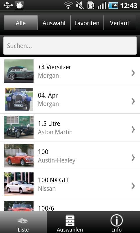 1000 Sportwagen aus aller Welt - screenshot