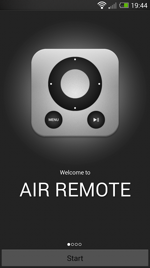 AIR Remote PRO for Apple TV- screenshot