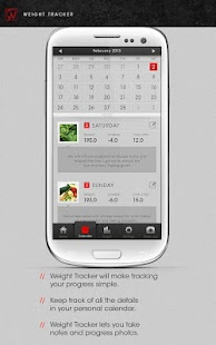 Weight Tracker Free - Journal - screenshot thumbnail