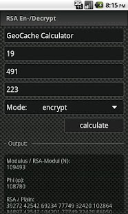 GCC - GeoCache Calculator - screenshot thumbnail
