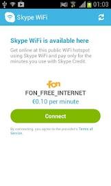 Skype WiFi Screenshot 4