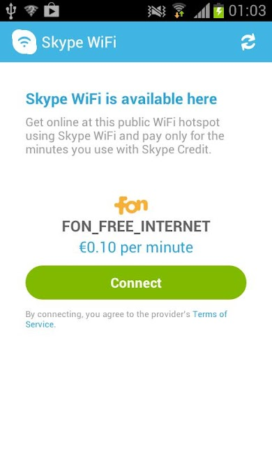 #4. Skype WiFi (Android)