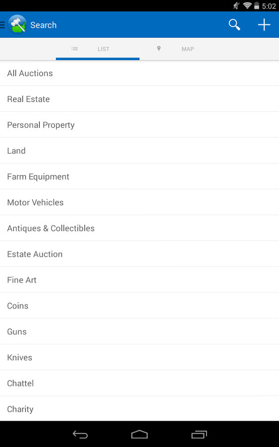 Auctioneer – Live Auctions- screenshot