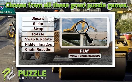 Construction Puzzle Games