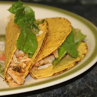 Chicken Tacos.