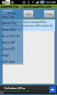 Voice Transcription EasyWriter- screenshot thumbnail