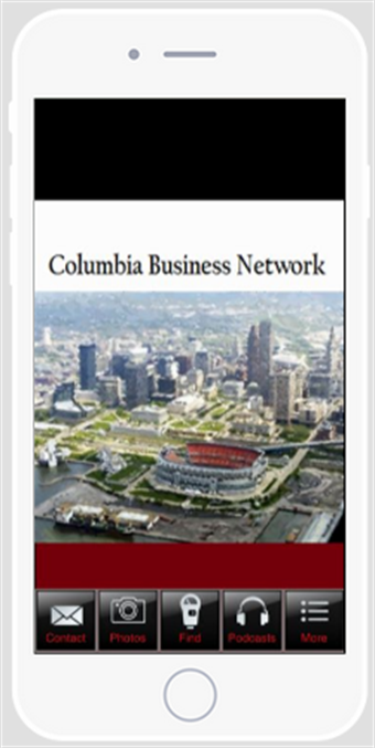 Columbia Business Network- screenshot