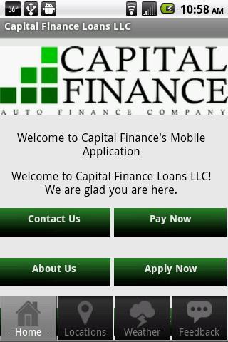Capital Finance Loans LLC