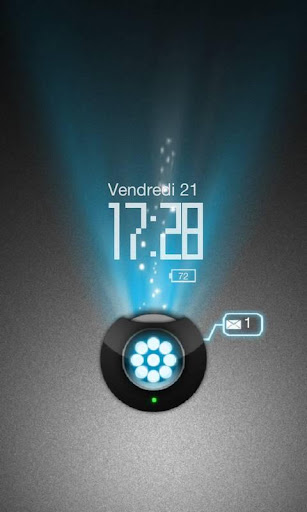 Holo Projector theme Go Locker