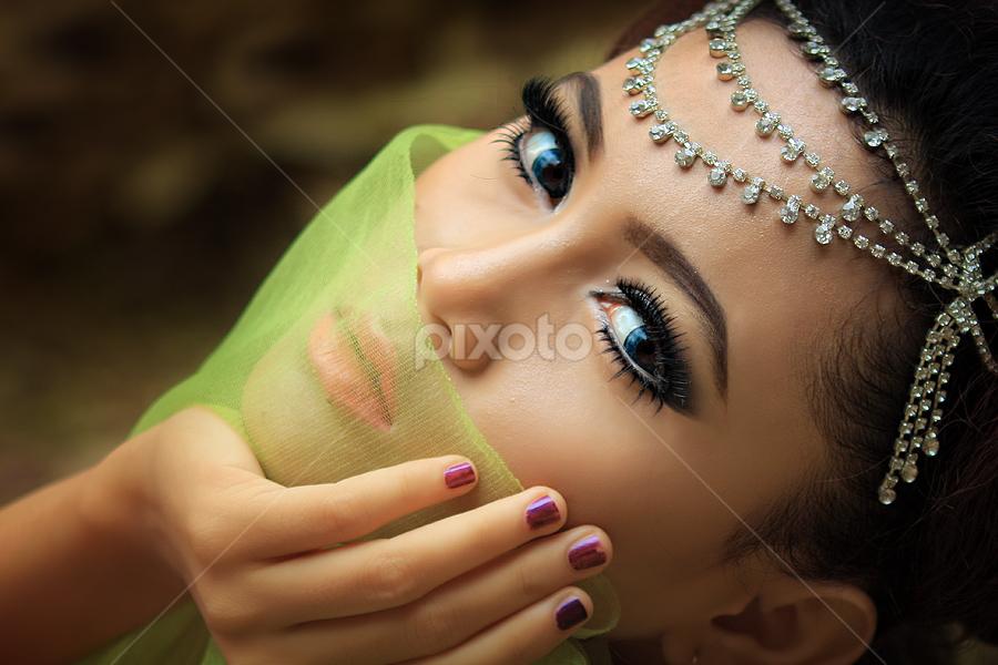 Eyes by 'Andi Iqbal - People Portraits of Women