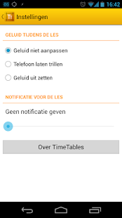 TimeTables - Inholland Rooster - screenshot thumbnail