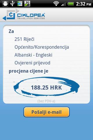 Ciklopea- screenshot