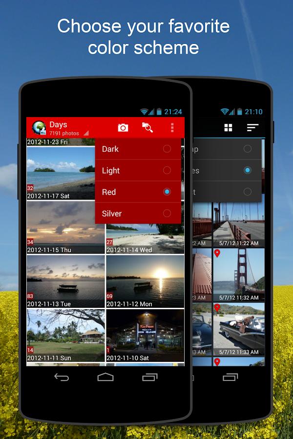 PhotoMap - Geo Photo Gallery - screenshot