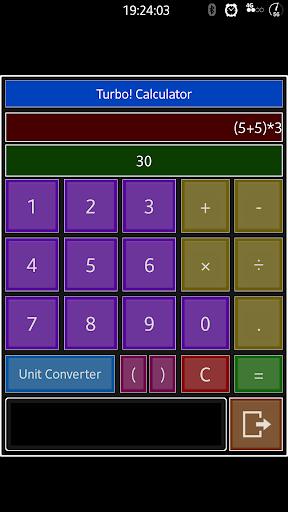 Turbo Calculator Converter