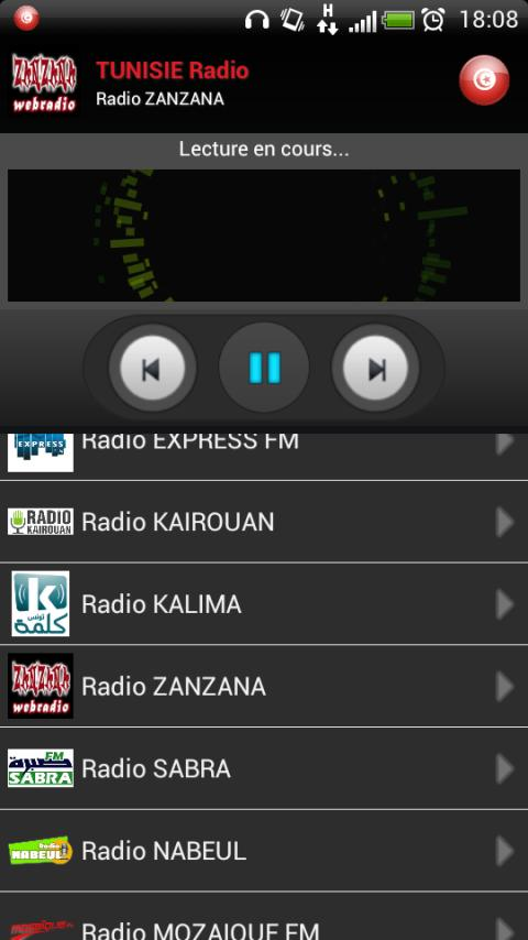 RADIO TUNISIE- screenshot