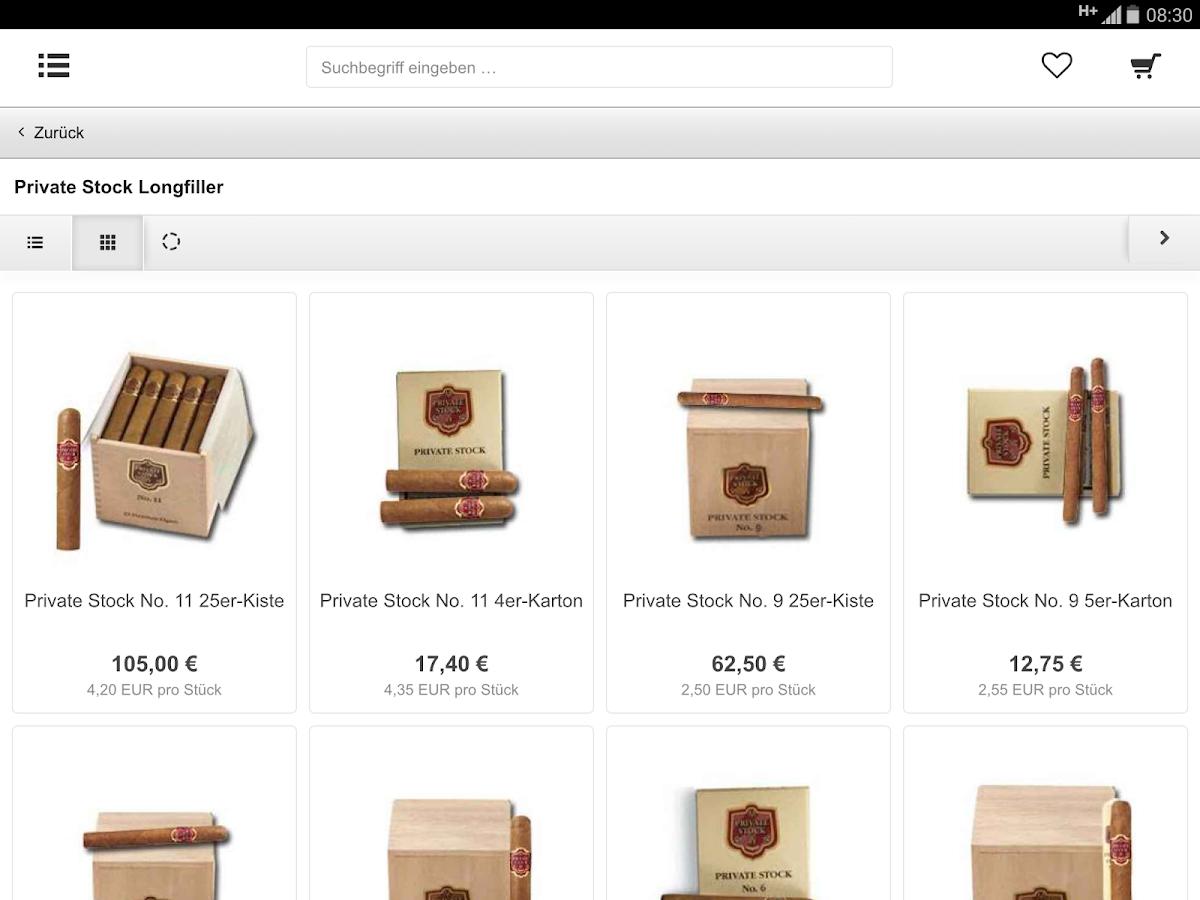StarkeZigarren- screenshot