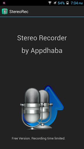 Stereo Audio Recorder