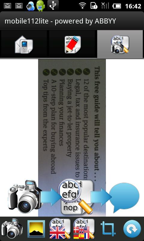 mobile112 lite- screenshot