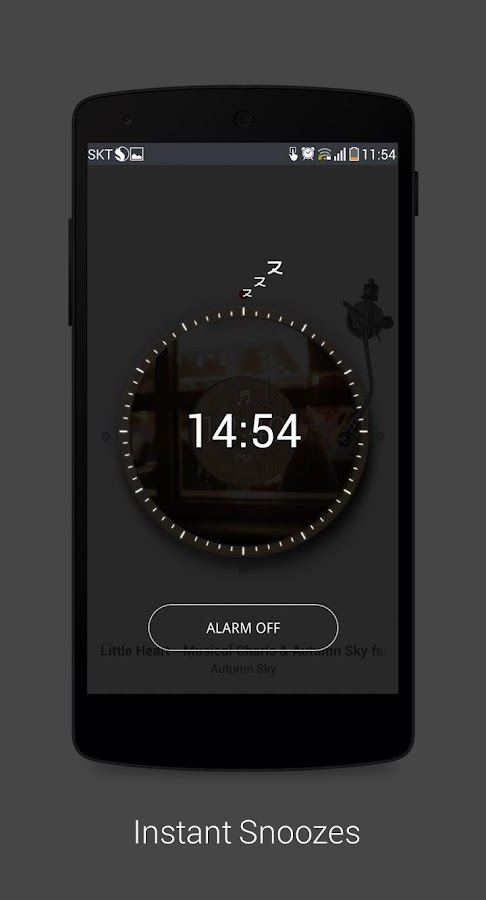 Random Music Alarm - zzzi- screenshot