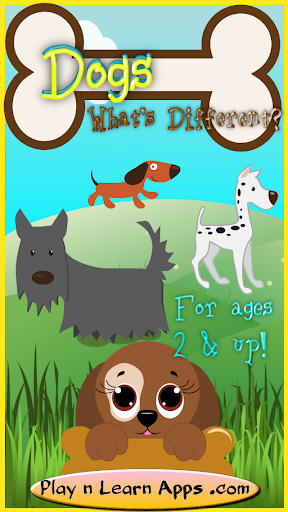 Dogs Toddler Game