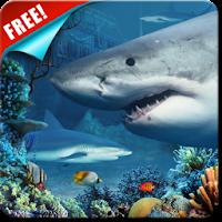 Shark Reef Live Wallpaper Free 1.10
