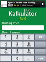 Screenshot of Kalkulator KPR