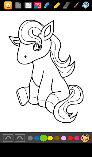 Pony Coloring Princess