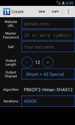 Master Password Manager Helper