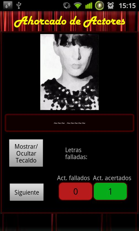 Ahorcado Actores - screenshot