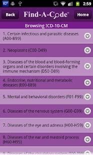 Find-A-Code ICD10/ICD9 +GEMs- screenshot thumbnail