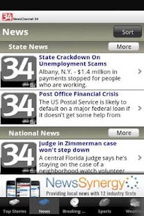 NewsChannel 34 - screenshot thumbnail