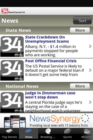 NewsChannel 34 - screenshot