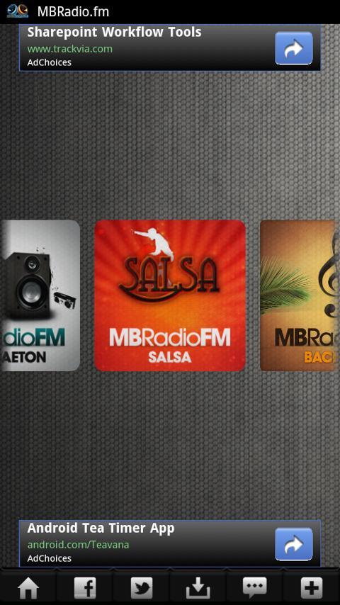 Bachata Radio 24/7 - screenshot
