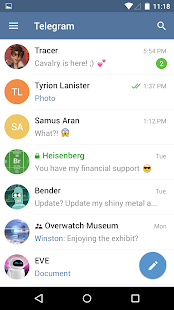 Telegram - screenshot thumbnail