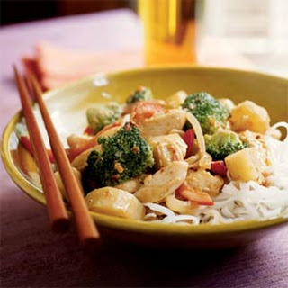 Spicy Chicken and Sunchoke Stir-Fry.