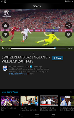Vodio: Watch Videos, TV & News 1.7.1 screenshot 159737
